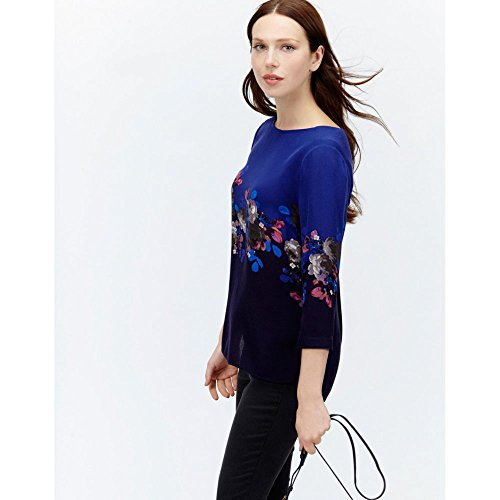 Joules Hope Ladies Shell Top (T) Dark Blue Floral