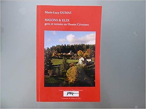Amazon Fr Malons Elze Histoire Economie Et Societe