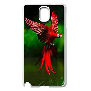 Winfors Blue and Yellow Wave Macaw Bird Phone Case For Samsung Galaxy note 3 N9000 [Pattern-2]