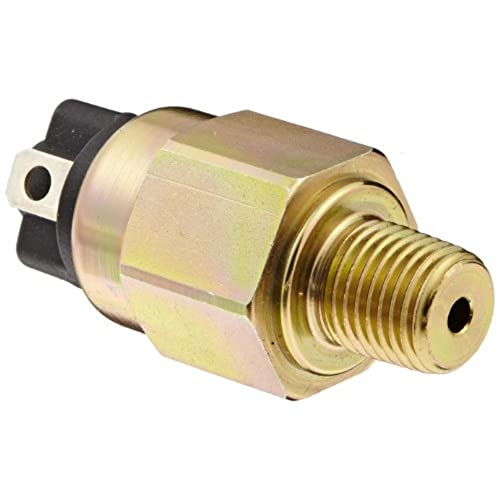 "Gems PS61-10-4MNZ-A-SP Series PS61 OEM Subminiature Pressure Switch, SPST N.O. Circuit, Spade Terminal, 10-60 psi Range, 1/4"" MNPT Steel Fitting hot sale"