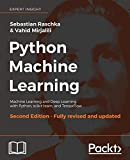 #5: Python Machine Learning: Machine Learning and Deep Learning with Python, scikit-learn, and TensorFlow, 2nd Edition