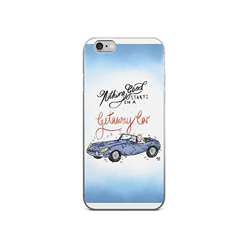 iPhone 6/6s Pure Clear Case Cases Cover Nothing Good Starts in a Getaway car | Taylor Swift | Lyric Illu