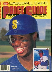 Sports Collectors Digest Baseball Card Price Guide Magazine Dec 1990 Ken Griffey Jr.