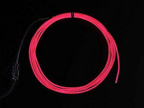 Adafruit High Brightness Pink Electroluminescent (EL) Wire -