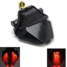 FZ 07 Integrated Sequential LED Tail Lights Turn Signals Blinker for Yamaha FZ07 2014-2016