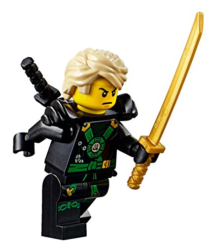 LEGO Ninjago: Deepstone Minifigure - Lloyd Airjitzu with Armor and Swords (70751)