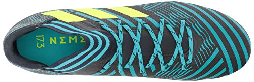 Adidas Mannen Nemeziz 17,3 Fg Voetbalschoen Legende Inkt / Zonne-geel / Energy Blue