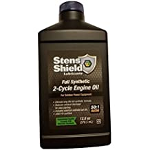 Stens Shield Lubricants Stens 770 128 50:1 Full Synthetic 2-Cycle Engine Oil Mix 12.8 fl oz (12 Pack)