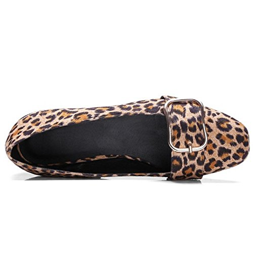 Donna Leopard Melady Moda Dimensiones Pumps Big Piatto UOqpxacq