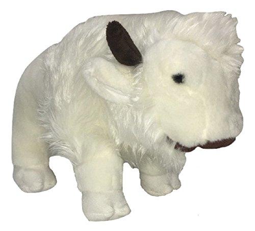 [Unipak Plush Animal White Nuna Bison] (Fawn Costume Headband)
