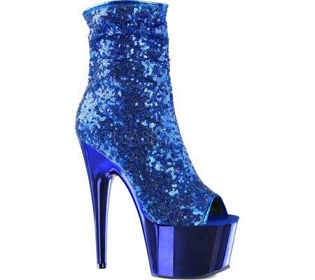 Donne Piacevoli Ado1008sq / G / Gch Boot Blu