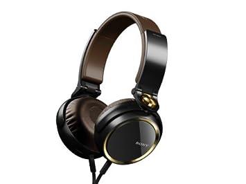 Sony MDR-XB600 Negro, Marrón Circumaural Diadema auricular: Amazon.es: Electrónica