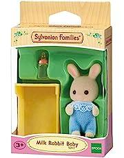 Sylvanian Families Milk Rabbit Baby, Game for Girls
