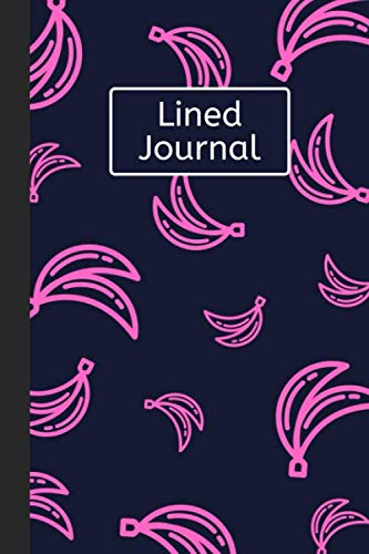 Cat Monkey Costumes Banana - Lined Journal: Pink Bananas: 120 Page
