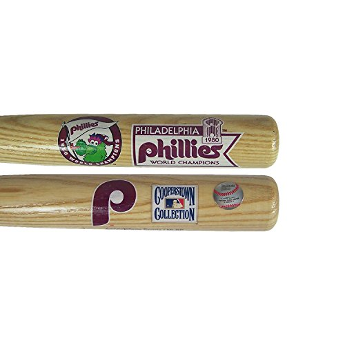 (Coopersburg Philadelphia Phillies Official MLB 1980 Baseball Bat by Sports 211202)