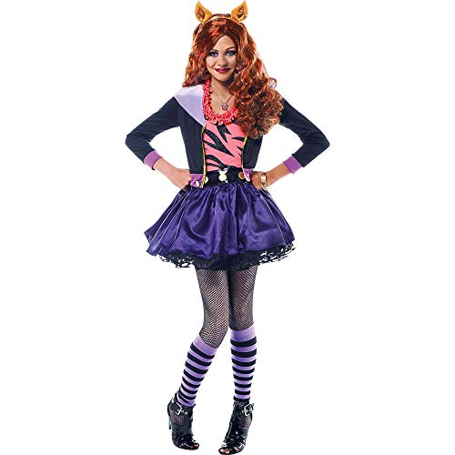 Monster High Clawdeen Wolf Halloween Costume Deluxe