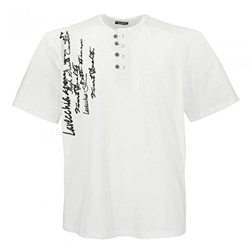 Lavecchia 4686 Übergröße Herren T-Shirt in Creme-Weiß 3-7 XL