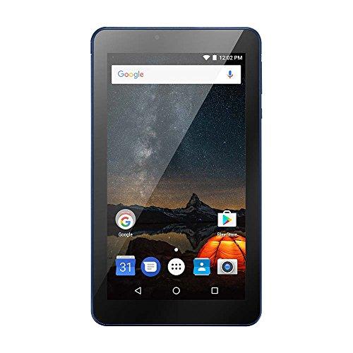"Multilaser M7S PLUS NB274 Tablet Quad Core Câmera Wi-Fi 1 GB de RAM Tela 7"" Memória 8GB Azul, A64, 1GB, Android"