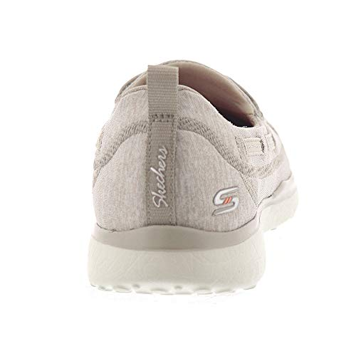 Donna Infilare Sneaker topnotch Microburst Taupe Skechers xUzwp0qT