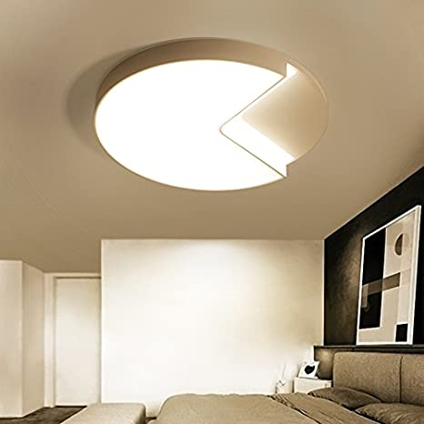 Cttsb Lámpara de techo Led románticas habitaciones luz ...