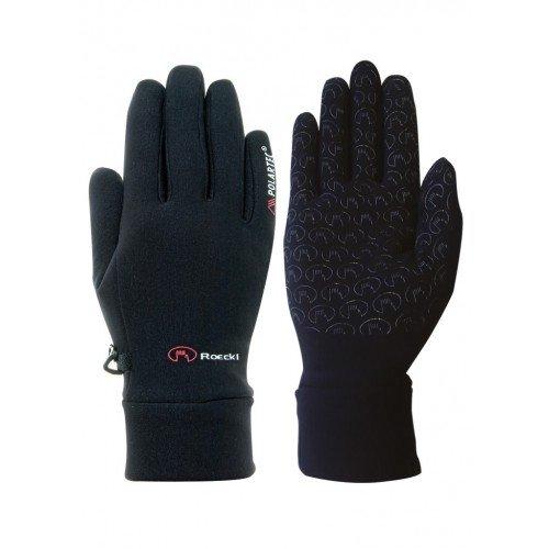 Polartec Winter Gloves Black 10 Roeckl Warwick