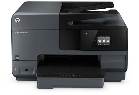 HP Officejet Pro 8610 - Impresora multifunción de tinta - B ...