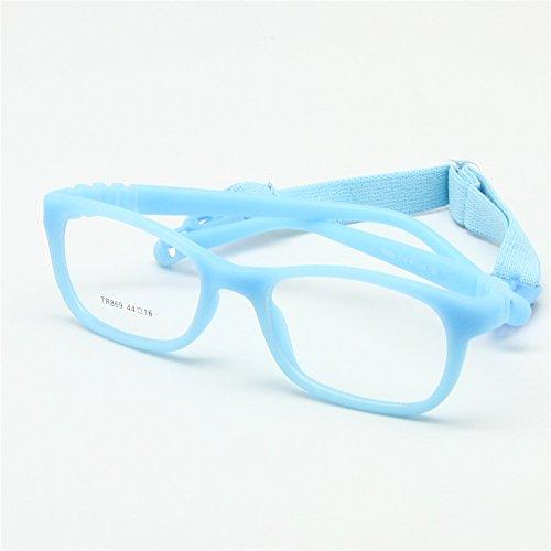 8433971ec7 El servicio durable EnzoDate - Montura de gafas - para niño multicolor azul