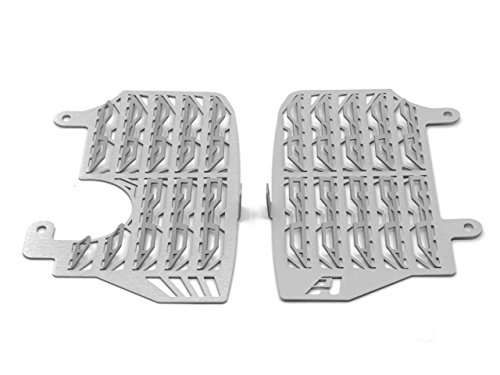 AltRider AT16-1-1102 Silver Radiator Guards (Honda CRF1000L Africa Twin)