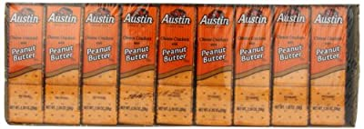 Austin Cheese Crackers with Peanut Butter, 45 Count from Austin