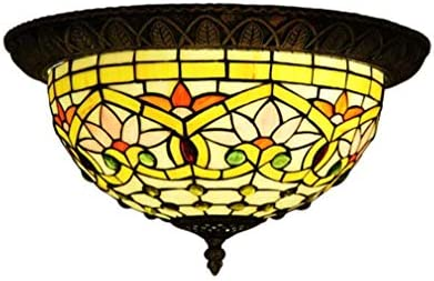 15 Unique Design of Stained Glass Chandelier | Home Design Lover