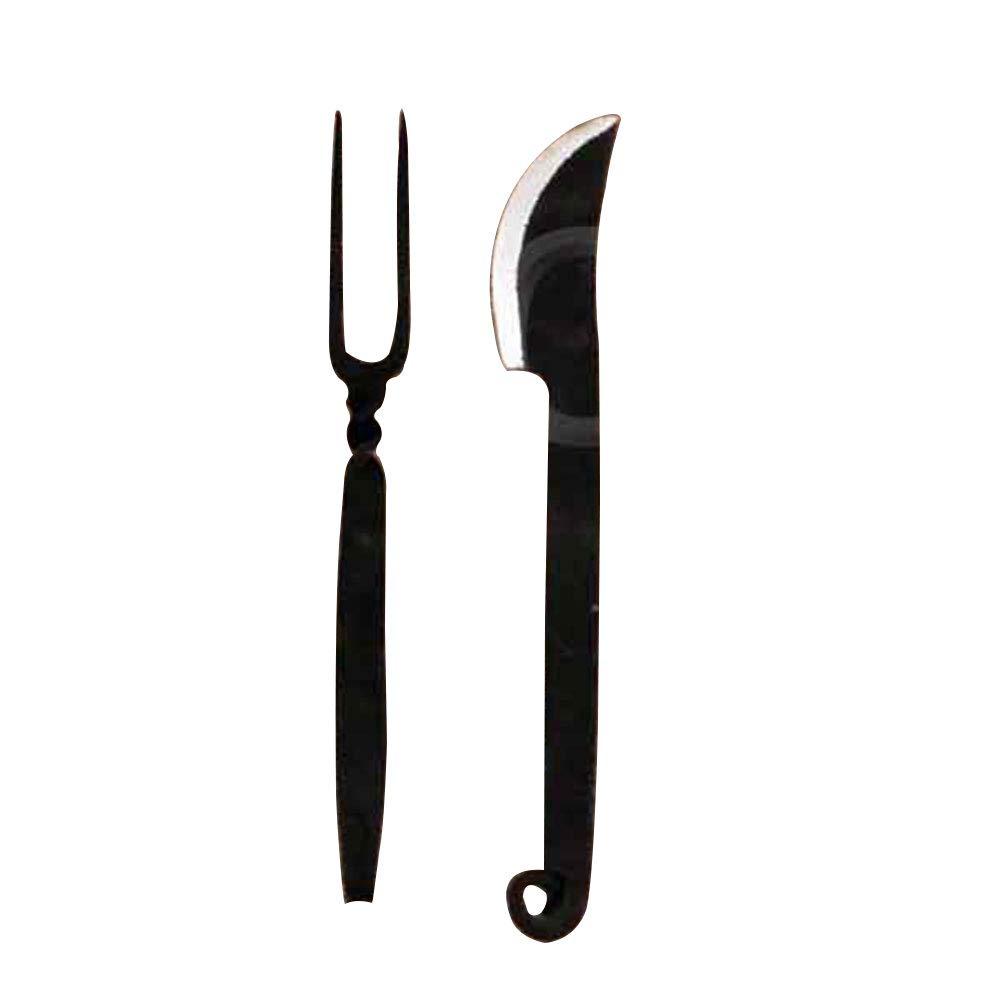 Deepeeka ah4380 Medieval tenedor y cuchillo: Amazon.es ...