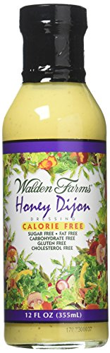 Walden Farms Calorie Free Dressing Honey Dijon -- 12 fl (Honey Dijon Dressing)