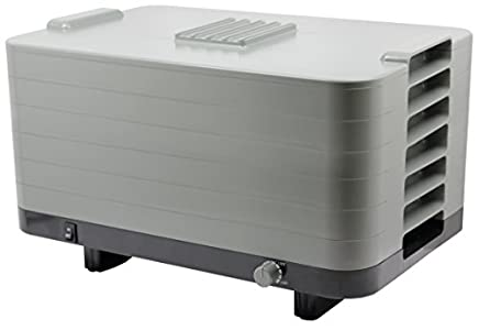 L'EQUIP 528 6 Tray Food Dehydrator : Plastic is sturdy and resilient