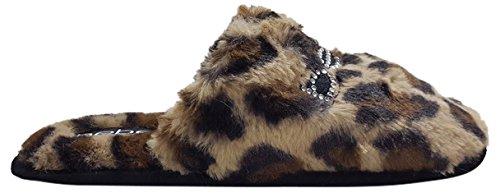 Charee Donna Leopard Slipper Da Bebe aHgwnxqdw