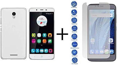 MB Accesorios Pack Protector Cristal Templado Transparente + Funda Transparente ZTE Blade A310: Amazon.es: Electrónica