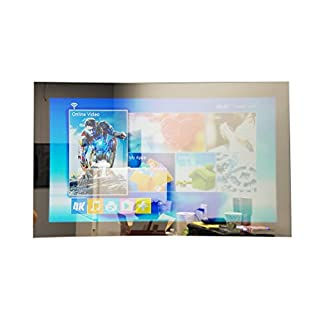 "GlassTek Inc. 49"" TV Mirror; Hidden TV Mirror"
