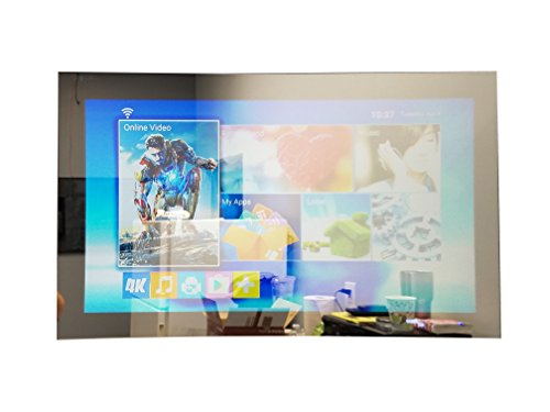 "GlassTek Inc. 32"" TV Mirror; Hidden TV Mirror"