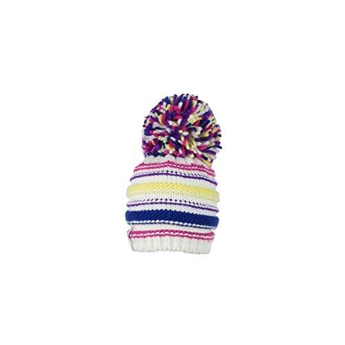 Obermeyer Boys Cece Knit Hat, Kids, White