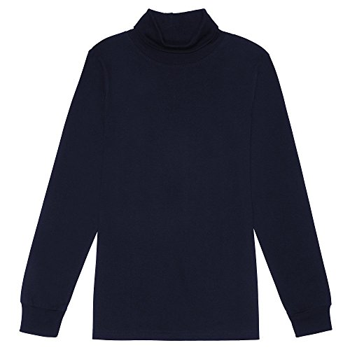 French Toast Boys' Little' Turtleneck, Navy, ()