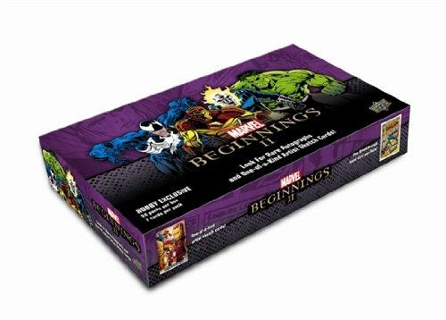 Marvel Beginnings 2 Upper Deck Trading Cards Box - 24 packs / 7 cards
