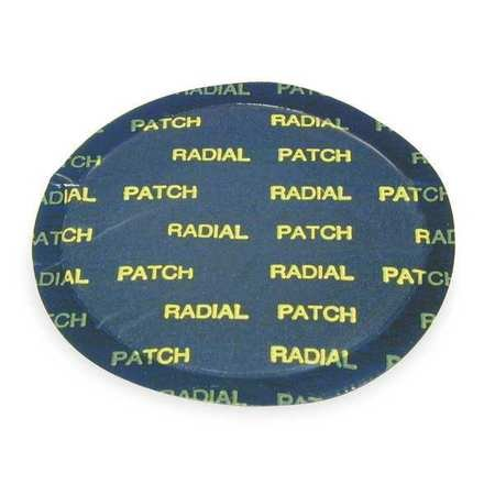 Lg Rnd Radial Tire Patch, 4-1/8 In L, PK10 by Camel