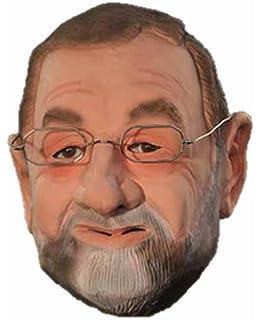 Careta de Mariano Rajoy con gafas (Elecciones 20 N 2011)