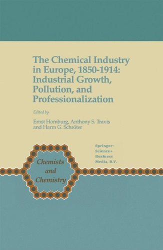 The Chemical Industry In Europe  1850 1914  Industrial Growth  Pollution  And Professionalization  Chemists And Chemistry