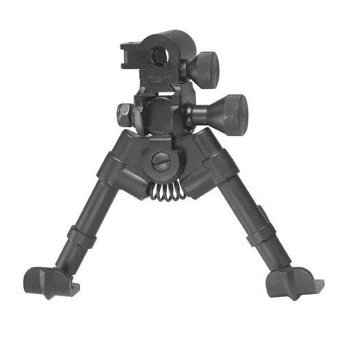 UPC 755377150499, 150-049 Versa-Pod Sniper Pod Extra-Short Bipod 50 Series Tactical With Pan Tilt & Lock Controls 5 to 7 - Ski Feet