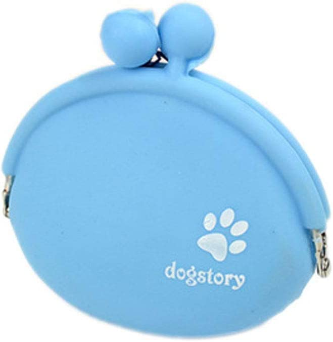 Silicone Cat Dog Training Bag Portable Dog Treat Bags Auwoo 2 Pcs Dog Cat Treat Pouch and 2Pcs Training Clicker with Wrist Strap