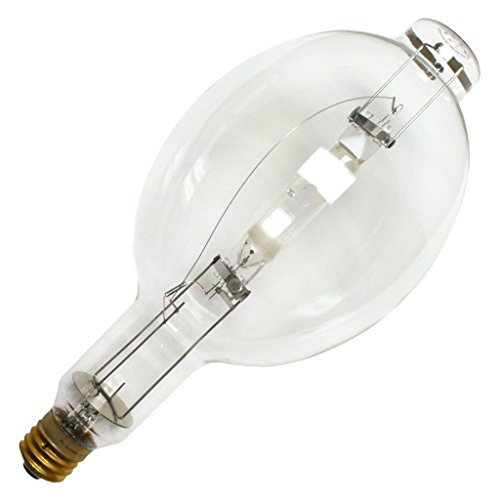 (SYLVANIA 64431 - 1500 Watt - BT56 - METALARC - Metal Halide - Unprotected Arc Tube - 4000K - ANSI M48/E - Horizontal Burn - M1500/BU-HOR)