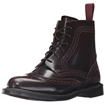 Dr.Martens Womens Delphine 6 Eyelet Leather Boots