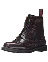 Dr. Martens Womens Delphine Red Arcadia Ankle Boot