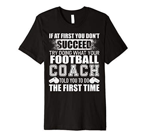 (Funny Football Coach Tshirt Thank You Gift for Coaches)