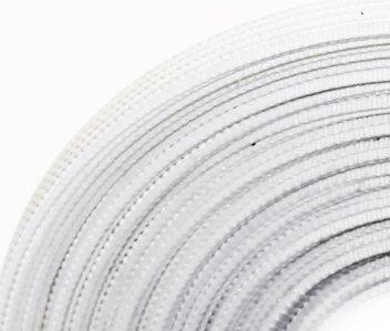 SALE 10 yards Rigilene POLY Polyester Boning WHITE 1/2